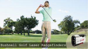 A female golfer completing a golf swing.
