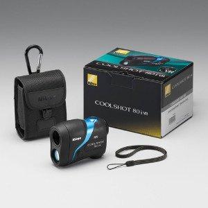 Nikon Coolshot 80i VR Rangefinder complete package