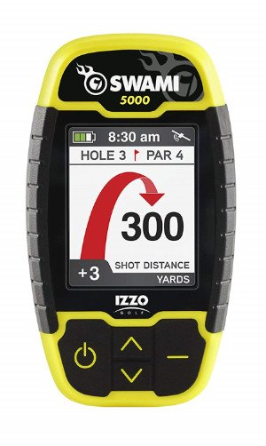 Swami 5000 GPS rangefinder black and yellow